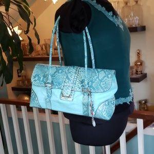 Vintage Liz Claiborne faux Snakeskin bag